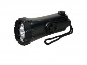 Shark Dynamo LED Kurbeltaschenlampe
