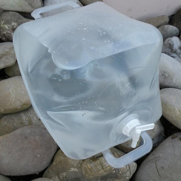 20 liter faltbarer wasserkanister politainer bpa frei krisenvorsorge. Black Bedroom Furniture Sets. Home Design Ideas