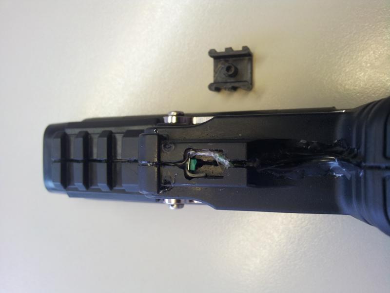 Microschalter eingebaut in JPX